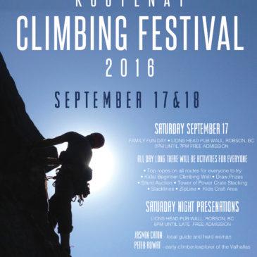 2016 Climbing Festival A Success!