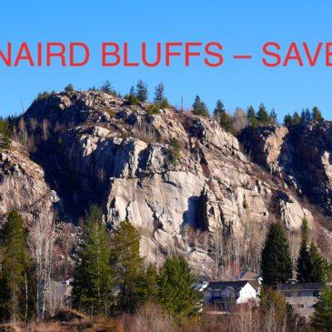 Kinnaird Bluffs Still Needs Saving!