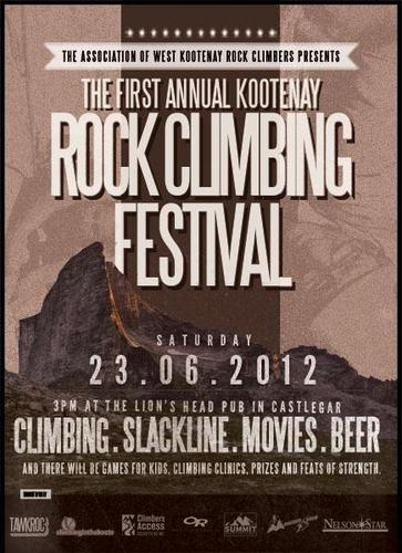 First Climbing Festival in Kootenays