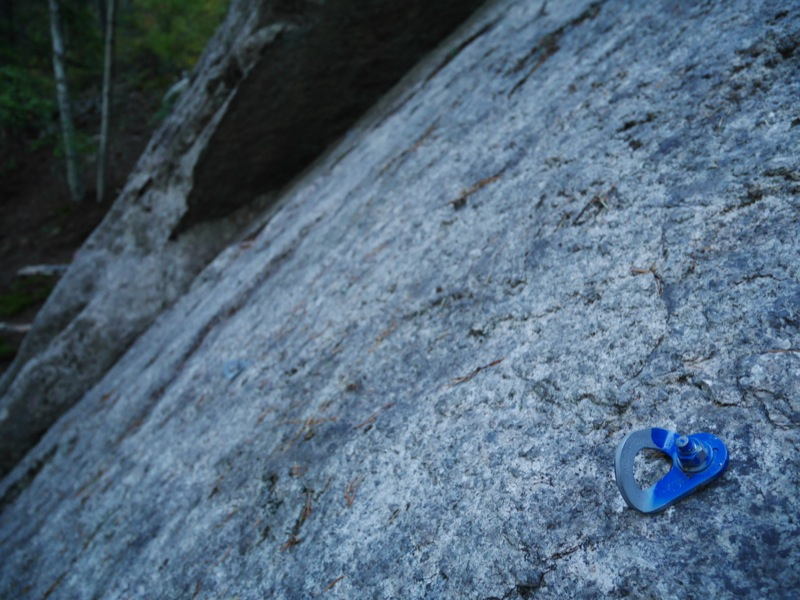 TAWKROC does not support the painting of bolts and hangers on outdoor routes.