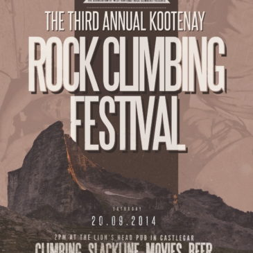Kootenay Rock Climbing Festival Returns September 20th