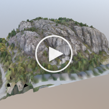 3D Map of Kinnaird Bluffs