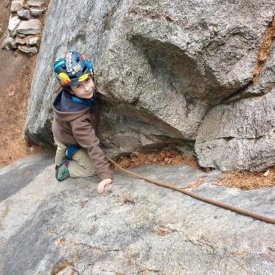 The Climbing Kids Tour took place in Nelson